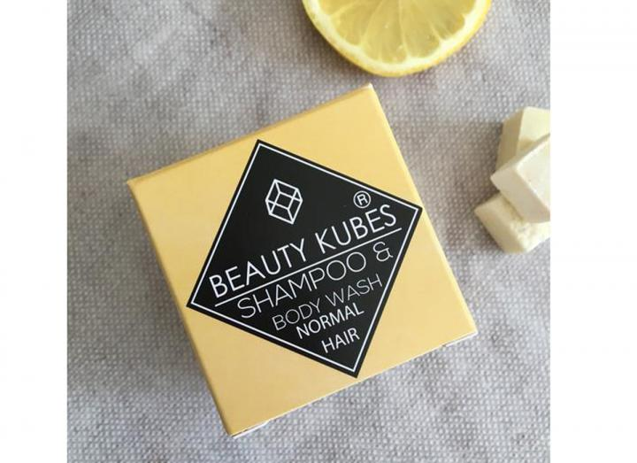 Beauty Kubes shampoo and body wash