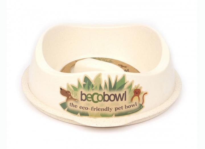Beco slow feeder bowl natural