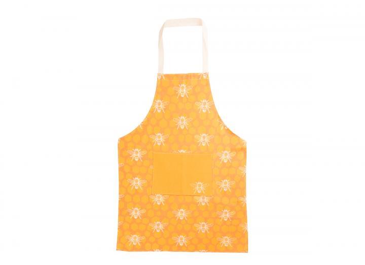 Eden Project bee print organic cotton apron