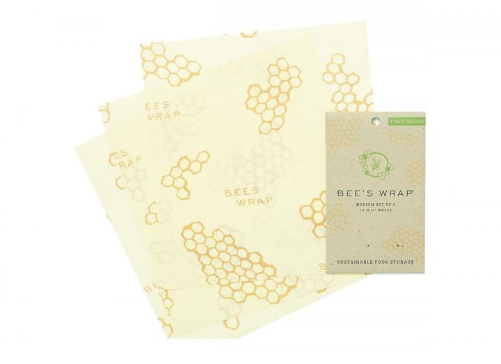 Bee's Wrap medium food wrap, made from beeswax and organic cotton