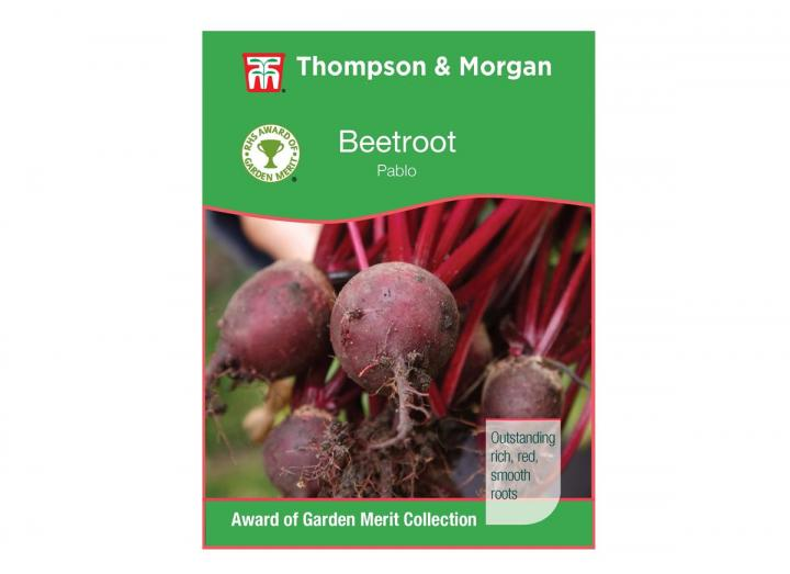 Beetroot 'pablo' seeds from Thompson & Morgan