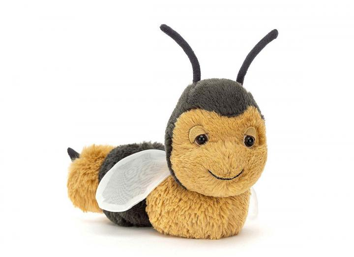 Berta bee cuddly toy from Jellycat