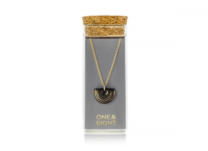 Black Agatha Necklace