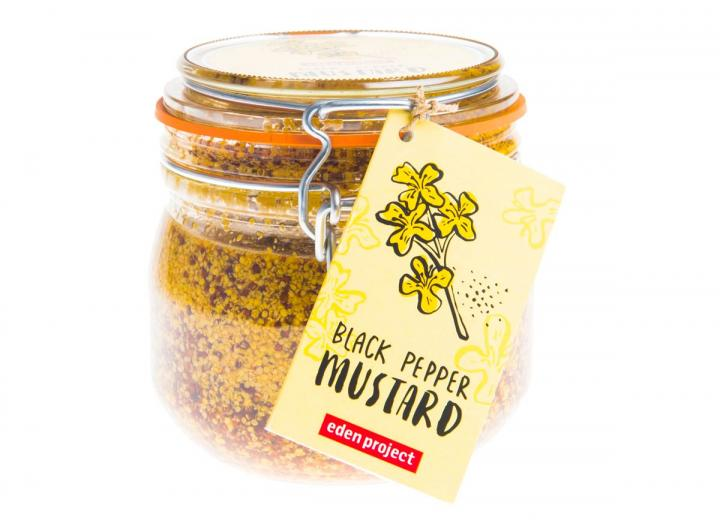 Black pepper mustard