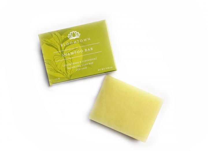 Shampoo bar - lemongrass and peppermint