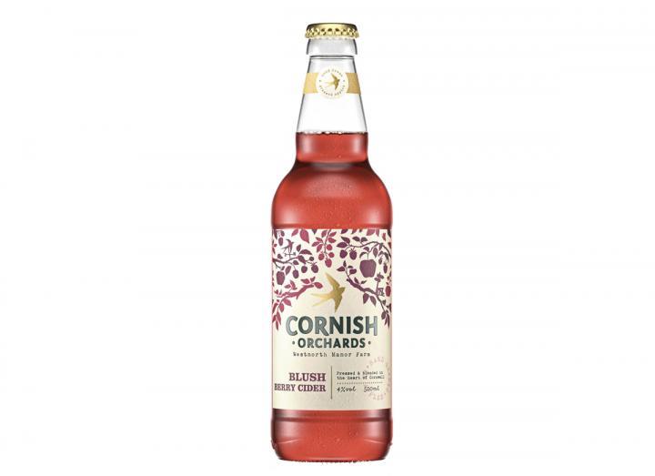 Cornish Orchards sparkling blush berry cider 500ml