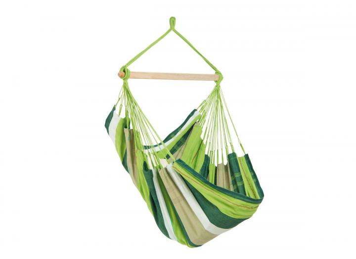 Bogota hanging chair in oliva from Amazonas
