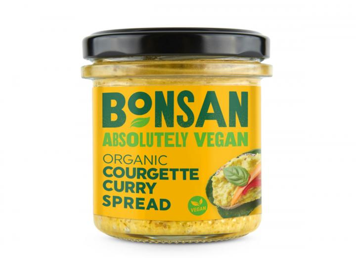 Bonsan organic courgette curry spread 135g