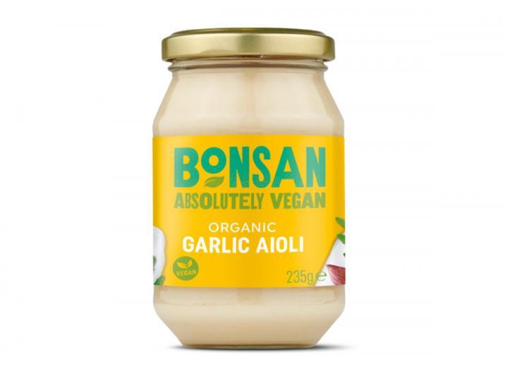 Bonsan organic garlic aioli 235g