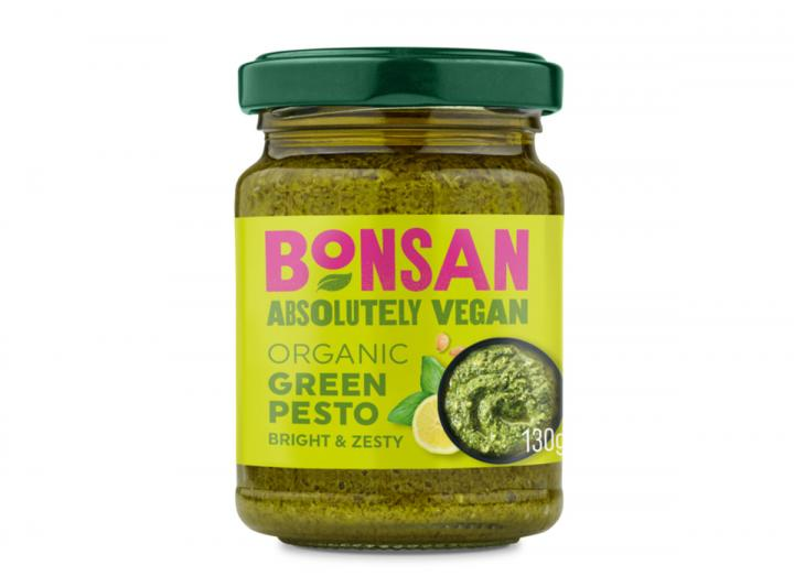 Bonsan organic green pesto 130g