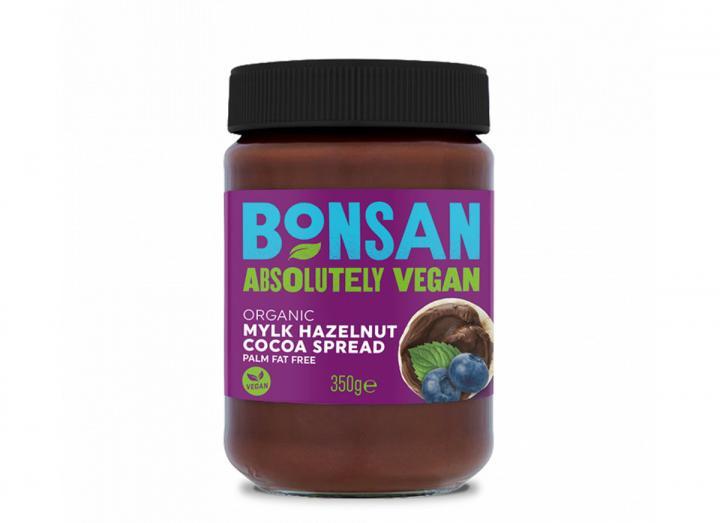 Bonsan organic mylk hazelnut cocoa spread 350g