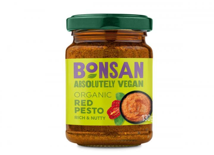 Bonsan organic red pesto 130g