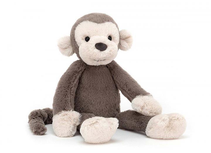 Brodie monkey cuddly toy from Jellycat