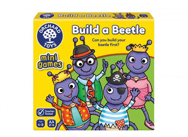 Build a Beetle mini game from Orchard Toys
