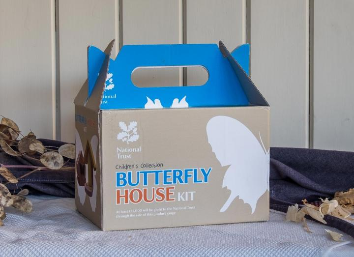 Butterfly House Kit part of the National Trust Children's Collection from Wildlife World