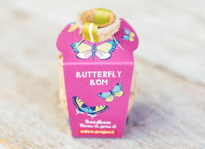 Butterfly seedbomb