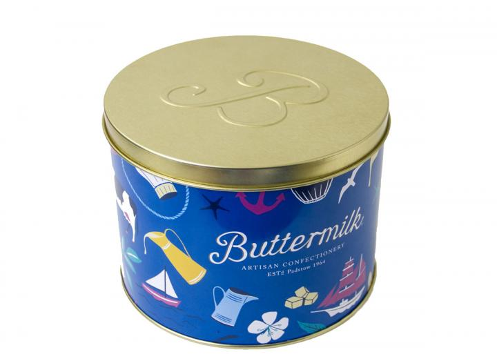 Buttermilk artisan confectionery tin