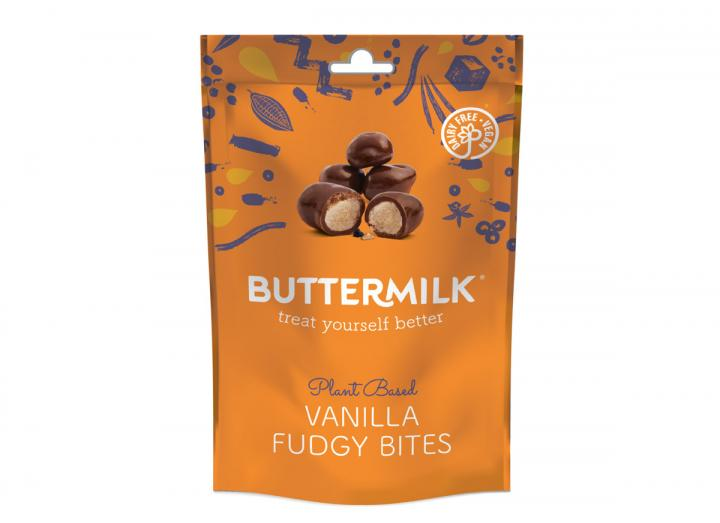 Buttermilk vanilla fudgy bites 100g