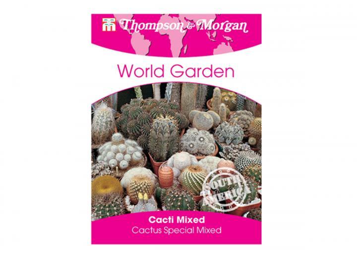 Mixed cacti seeds