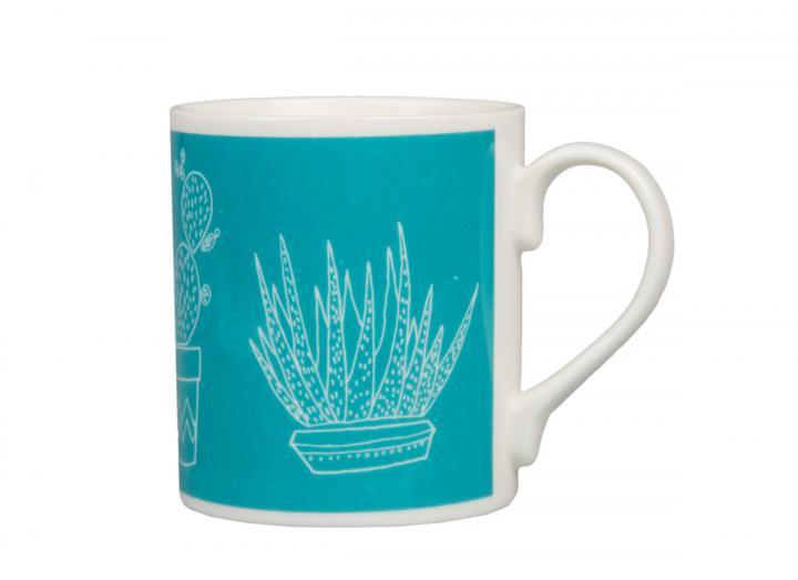 Eden Project cactus print mug