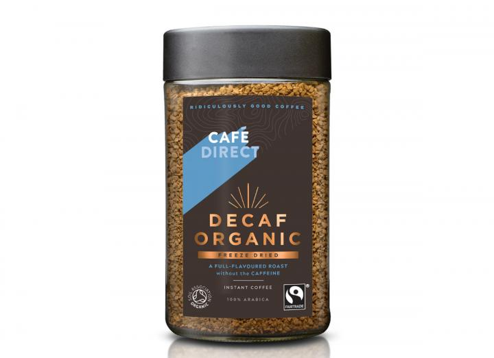 Cafedirect fairtrade decaf organic freeze dried coffee