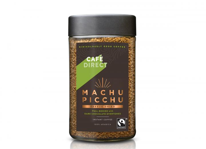 Cafedirect fairtrade machu picchu freeze dried coffee
