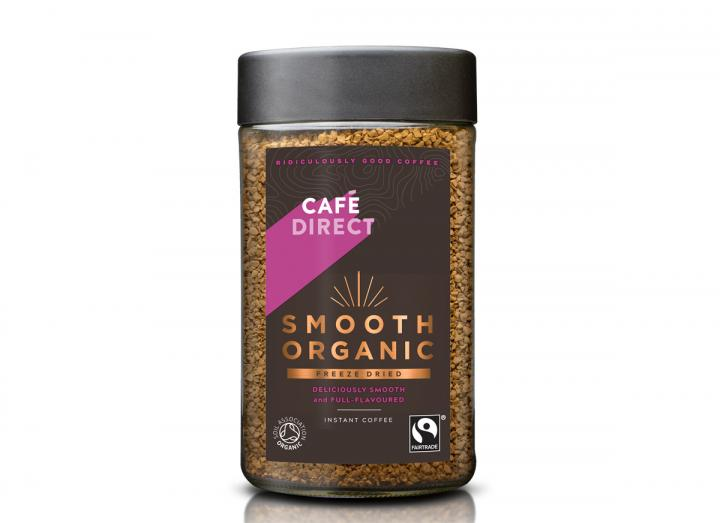Cafedirect fairtrade smooth organic freeze dried coffee