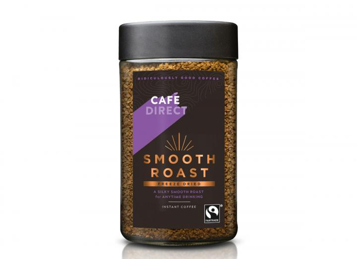Cafedirect fairtrade freeze dried smooth coffee 100g