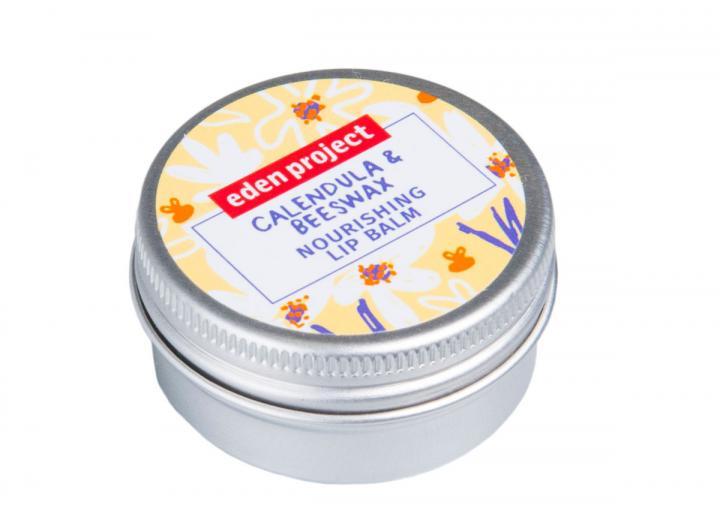 Calendula and beeswax lip balm