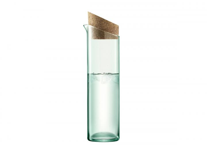 Carafe with cork lid, part of the Canopy range from LSA International