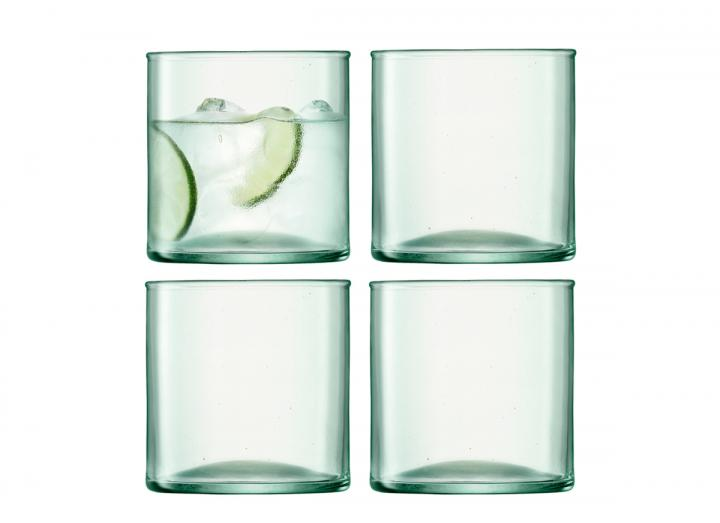 Set of 4 tumblers, part of the Canopy range from LSA International
