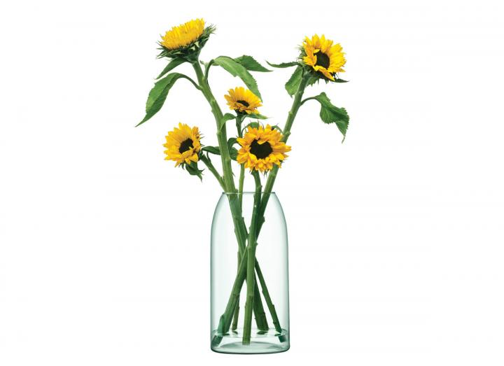 Eden Project canopy vase 32cm, recycled glass vase from LSA International