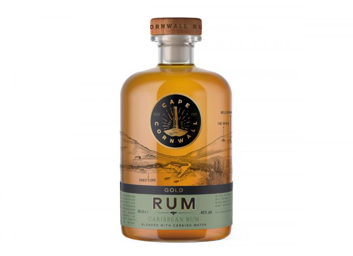 Cape Cornwall gold rum 70cl