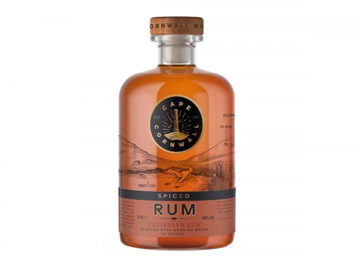 Cape Cornwall spiced rum 70cl
