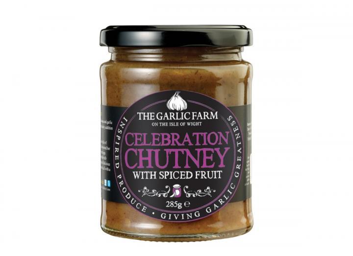 Celebration chutney made by The Garlic Farm