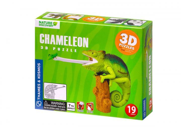 Chameleon 3d puzzle