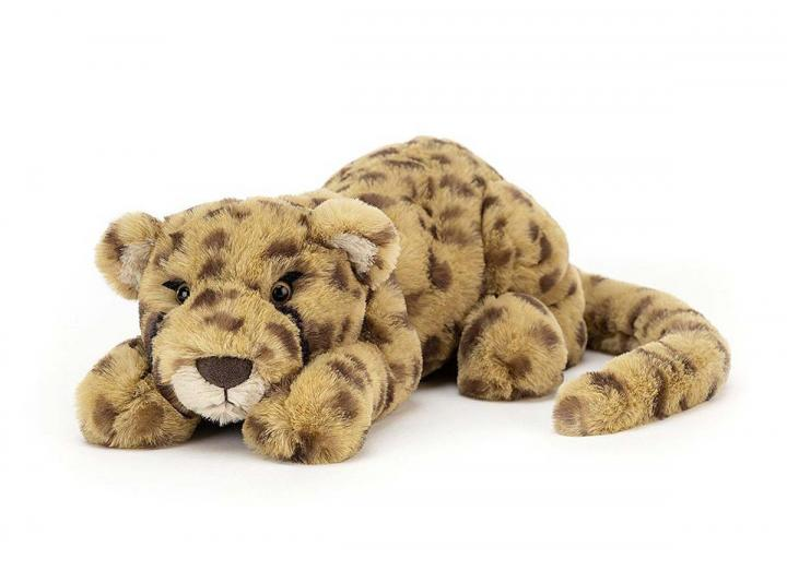 Charley Cheetah little cuddly toy from Jellycat