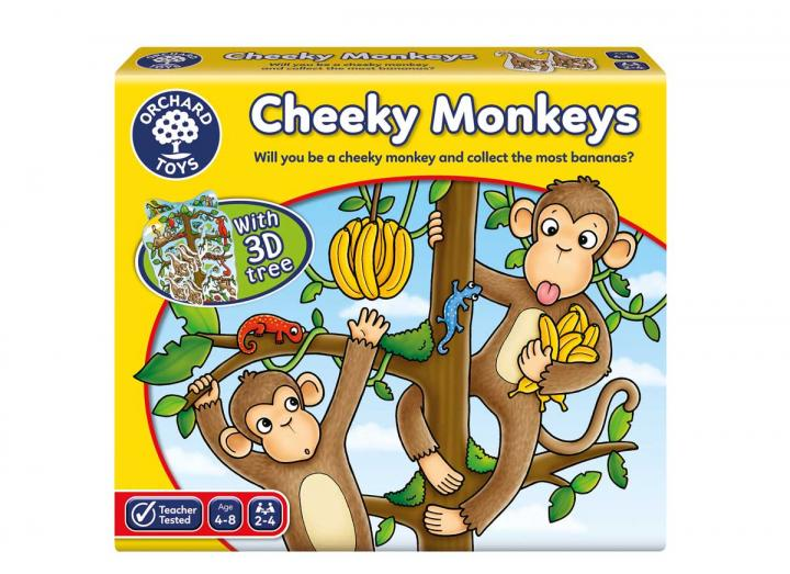 Cheeky Monkeys game from Orchard Toys