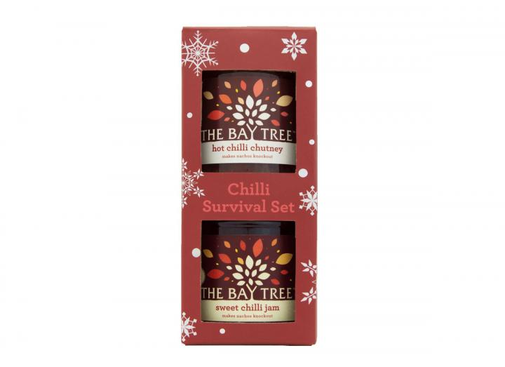 Chilli survival set from The Bay Tree