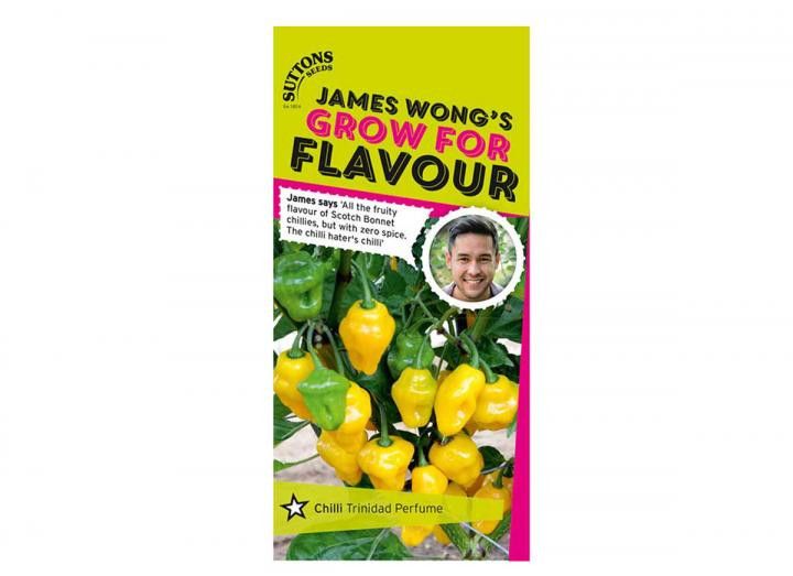 Chilli 'Trinidad perfume' seeds from the James Wong grow for flavour collection