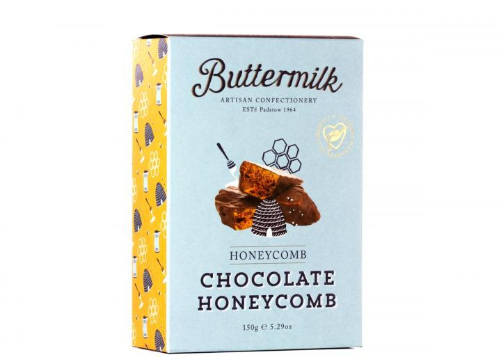 Buttermilk chocolate coated honeycomb