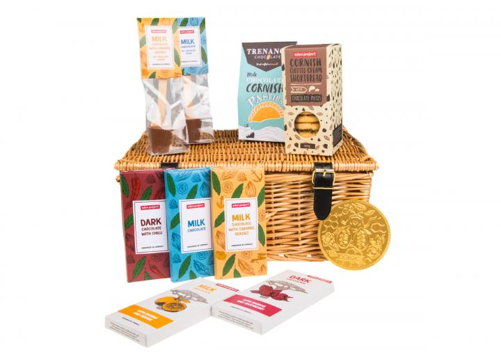 Chocolate Indulgence Hamper, exclusive to Eden Project