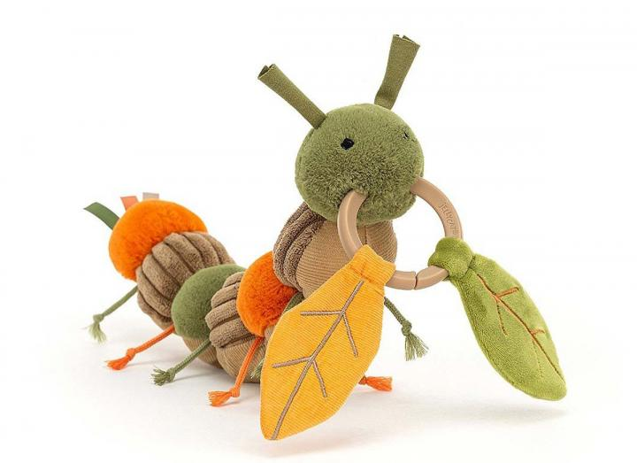 Christopher Caterpillar activity toy from Jellycat
