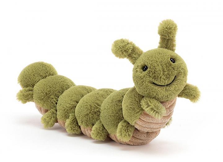 Christopher Caterpillar cuddly toy from Jellycat