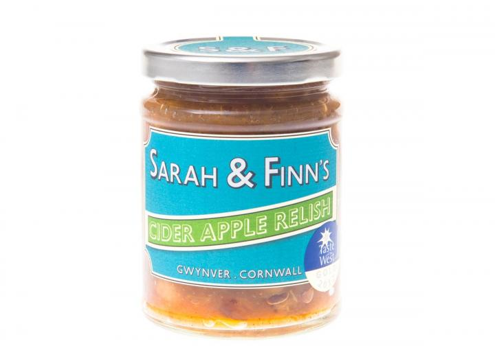 Cider apple relish from Sarah & Finn's