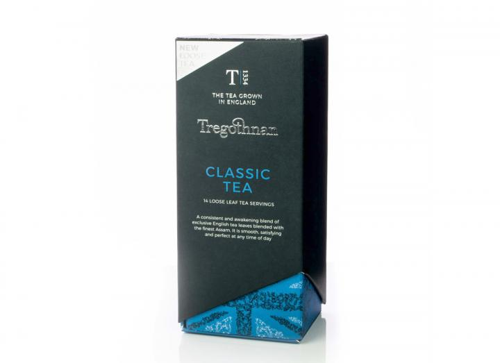 Tregothnan Classic loose tea caddy