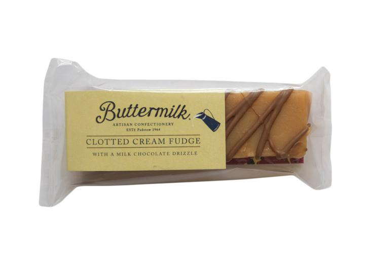 Clotted cream fudge bar from Buttermilk Confections
