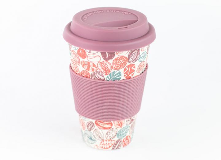 Coffee Bean Bamboo Coffee Cup
