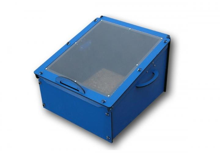 Cold frame single in blue