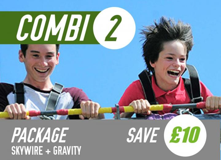 Combi adventure package at Hangloose